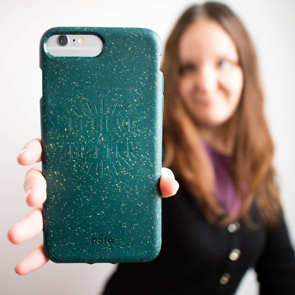 Catherine Tuckwell Personal Brand Photography eco-friendly Pela case Believe in Better