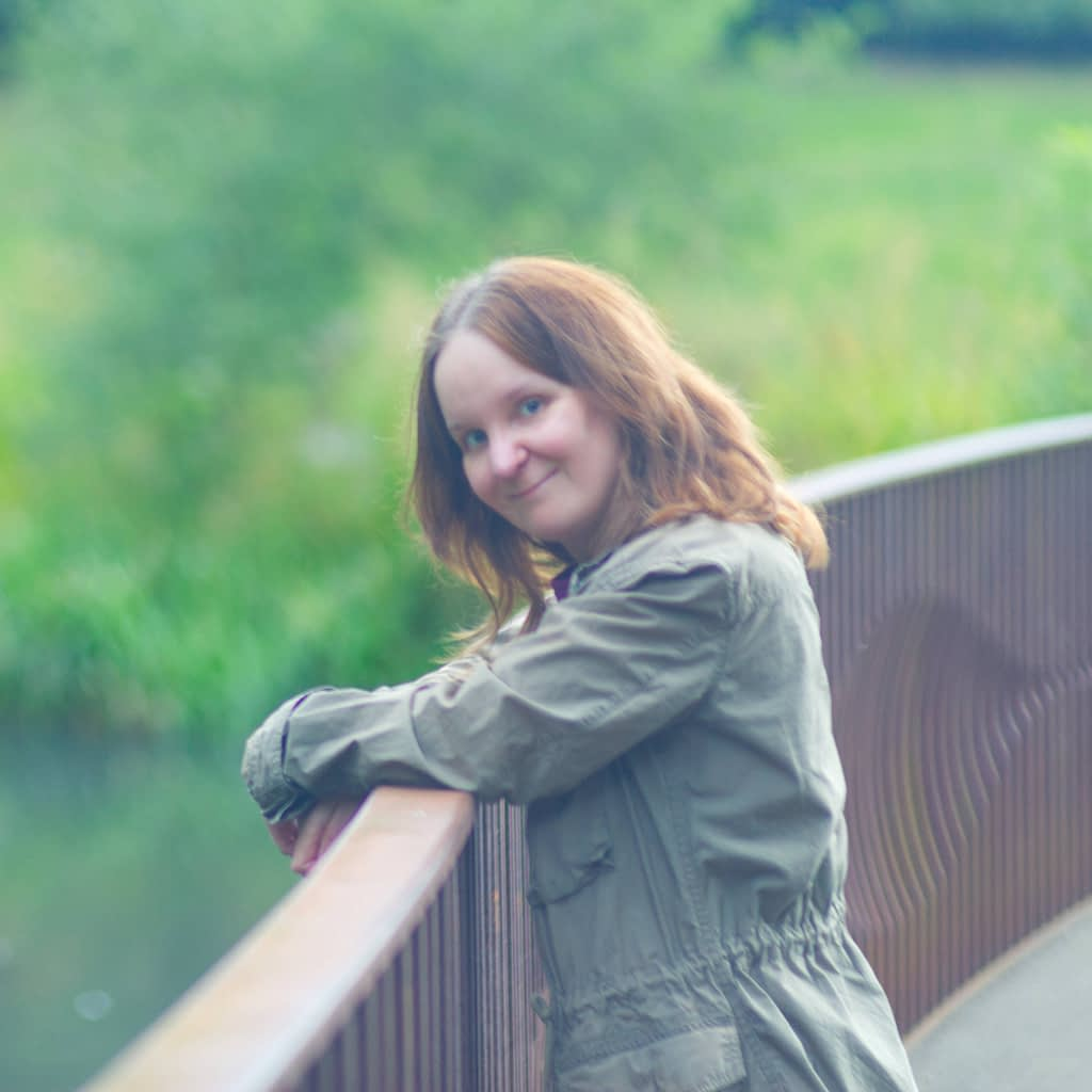 Catherine Tuckwell Personal Brand Photography outdoors in nature at local park